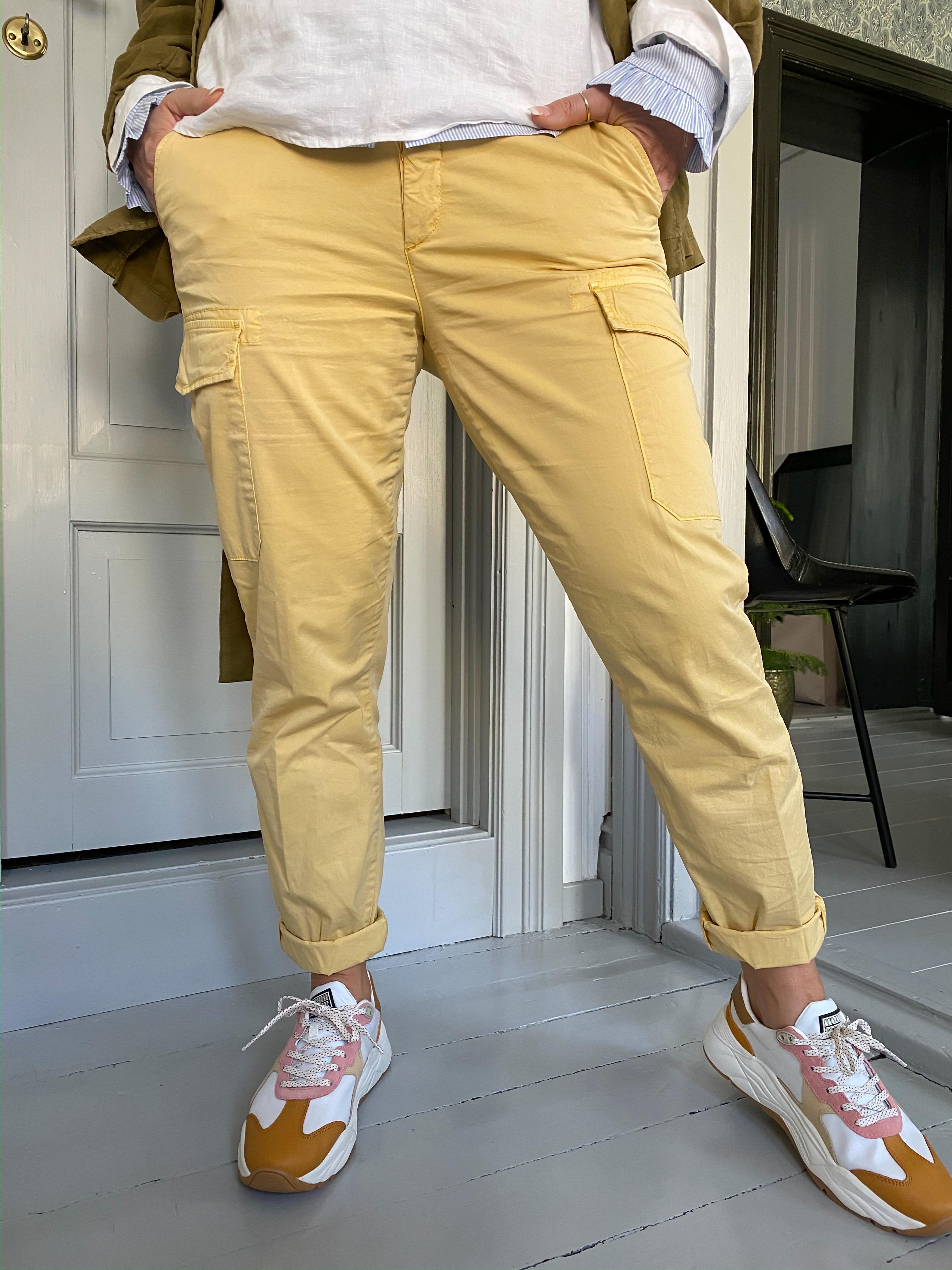 Abbey paper cargo pant