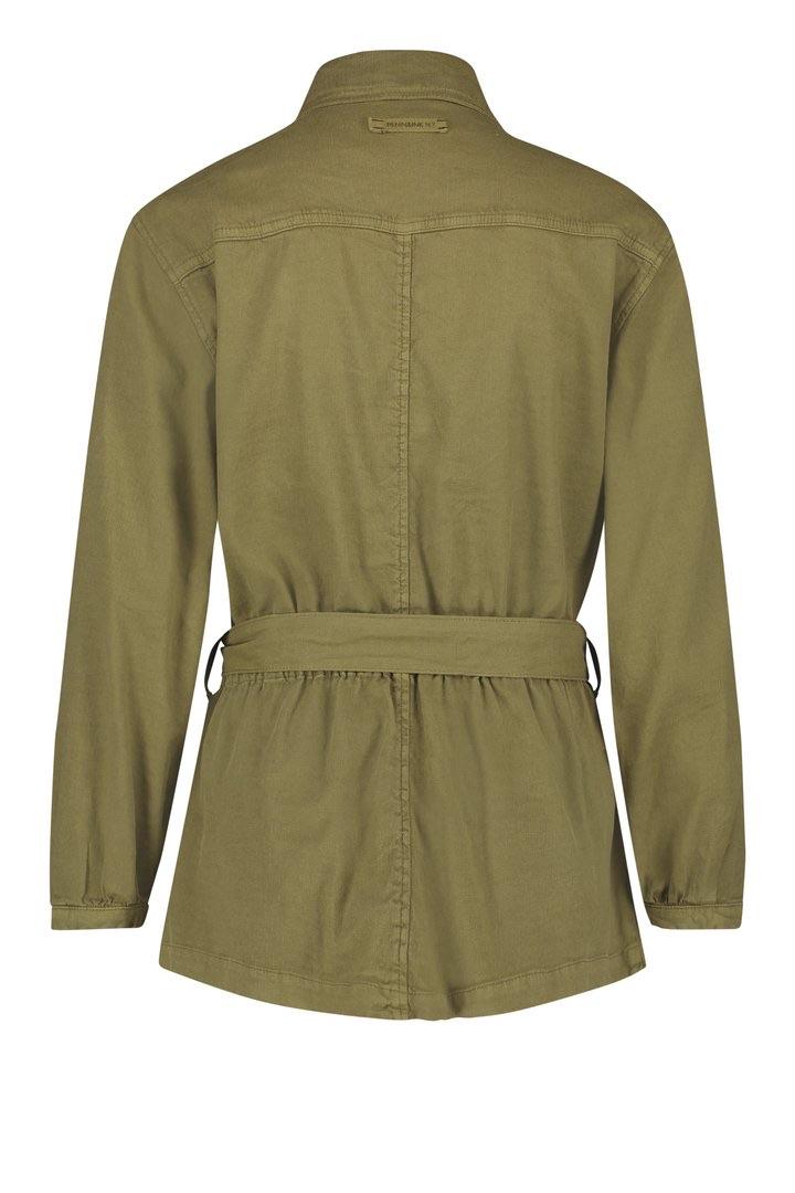 Cargo linen jacket
