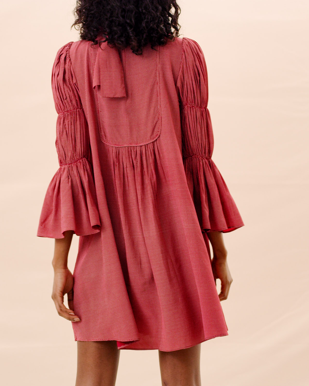 Shiny Vintage Shift Dress