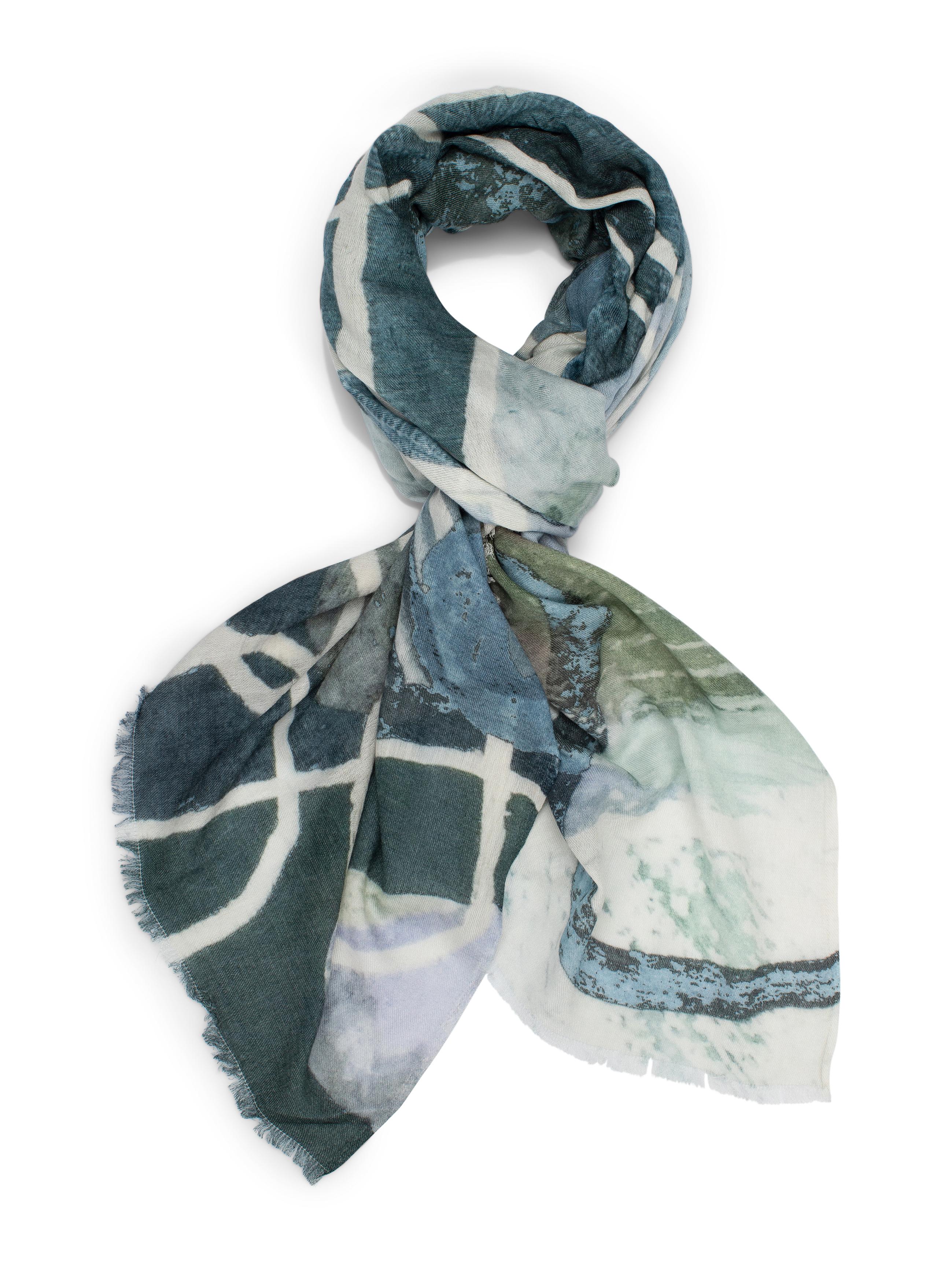 Ocean stream scarf