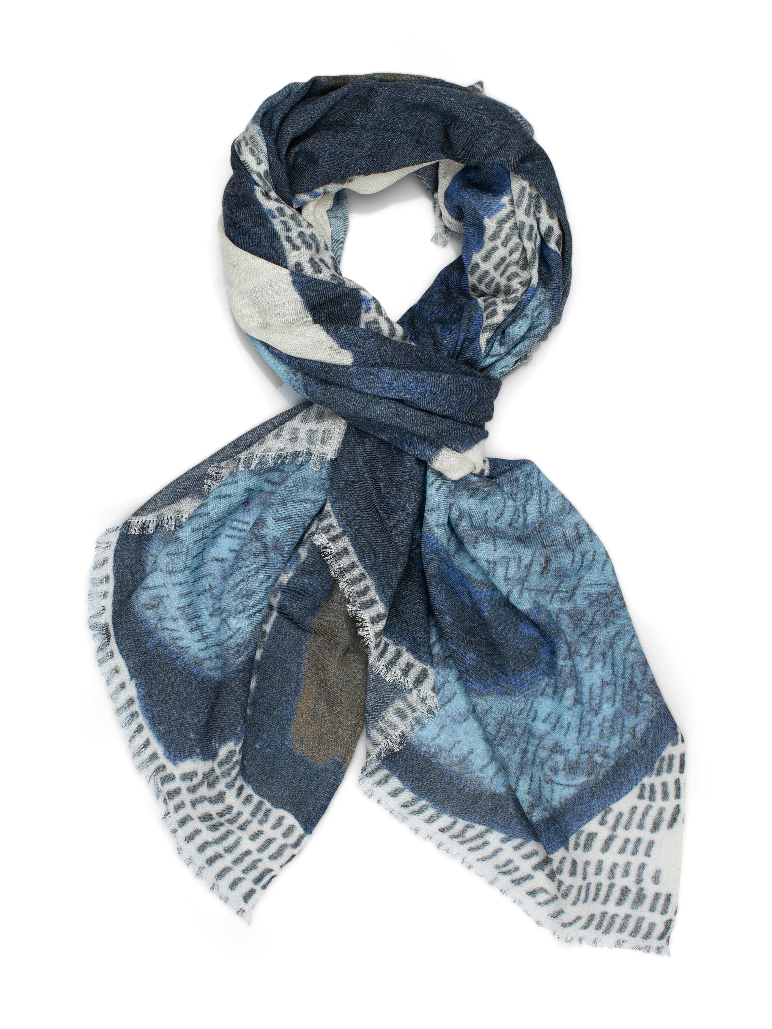 Masaai village night scarf