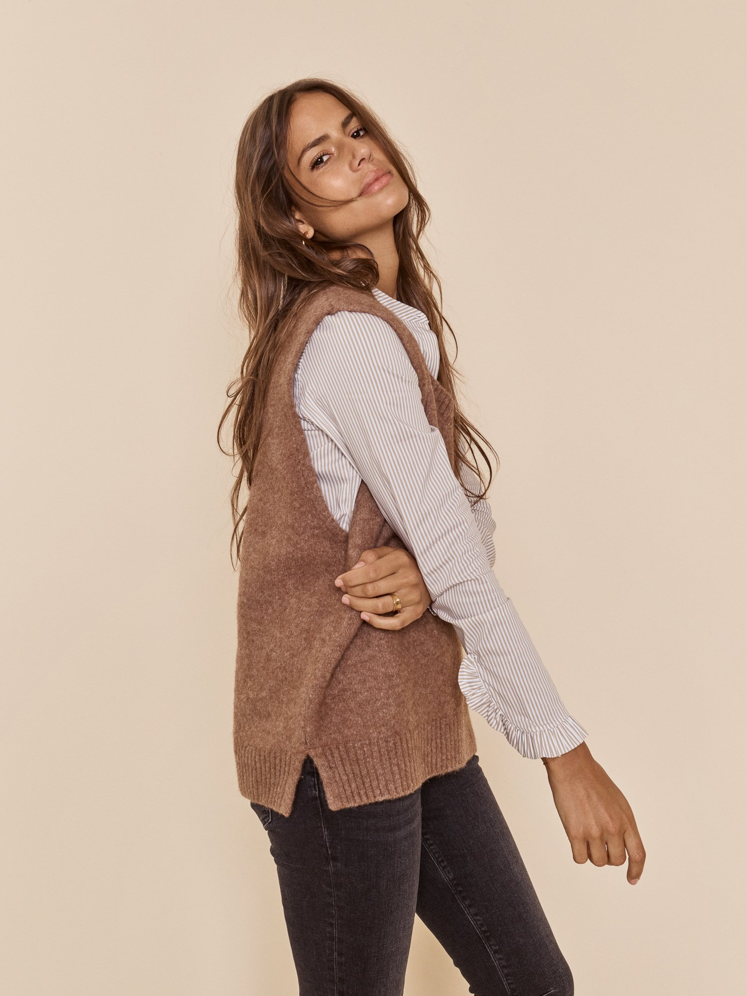 Zahra knit slipover