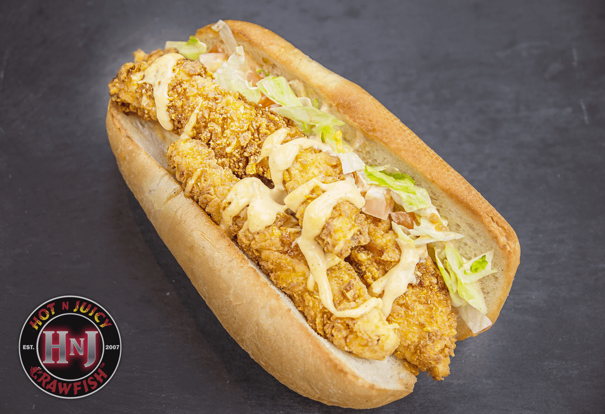 Chicken Tender Po' Boy