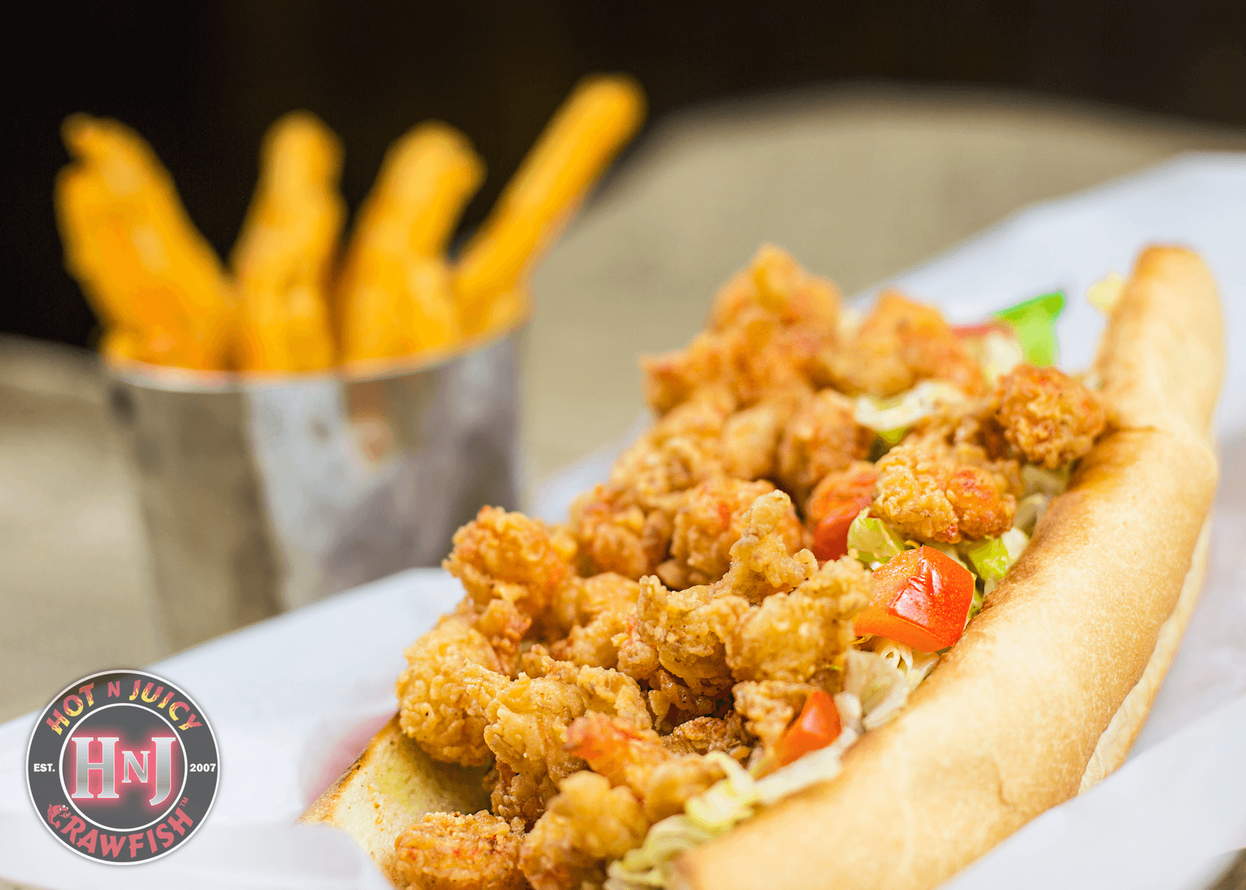 Crawfish Po' Boy