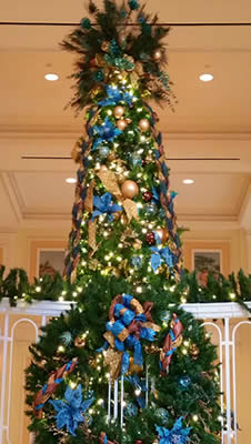 Atlanta Hotel Christmas Tree