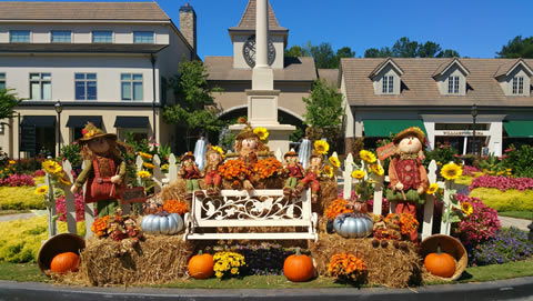 Fall Decor for Commercial Properties in Atlanta