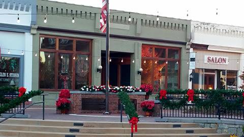 Pavilion Christmas Decor