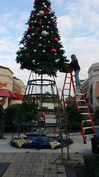 Commercial Christmas Tree Lighting