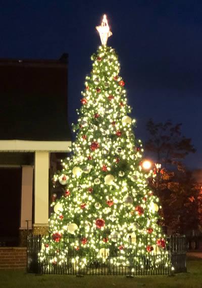 Street Light Christmas Lighting