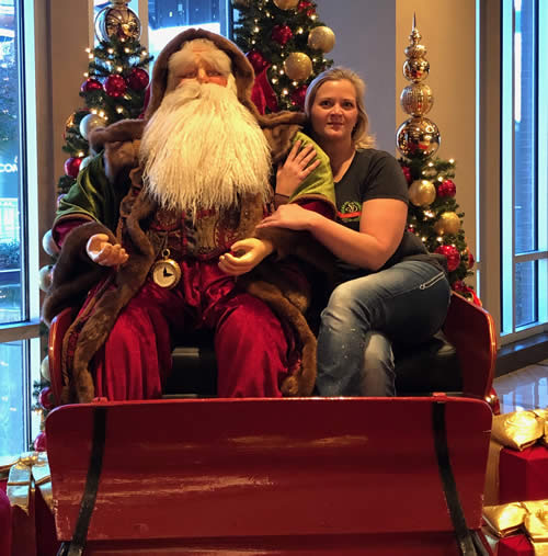 Atlanta Hotel Christmas Sleigh