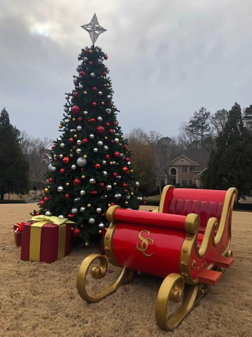 Christmas Tree Lighting and Decor