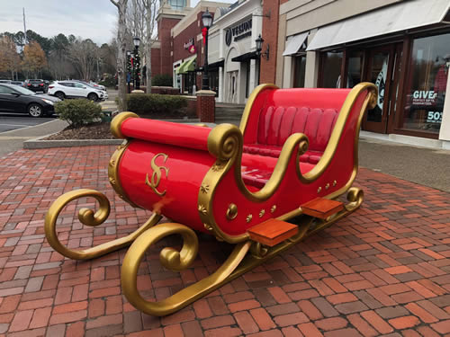 Christmas Sleigh Decorations