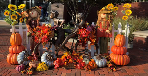 Fall Decor for Commercial Properties in Atlanta Georgia