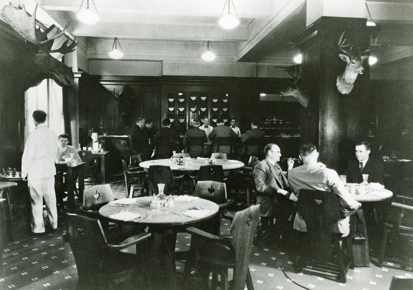 la athletic club in the 1940's