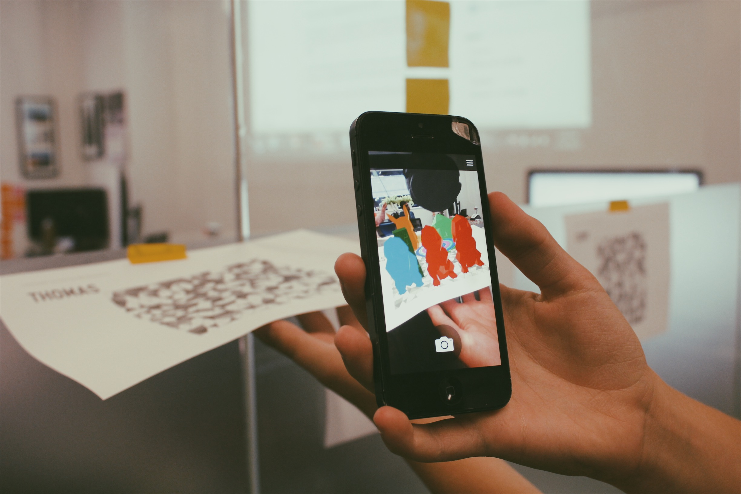 Lemonade Stand Kids AR: playing with Plattr's augmented reality app