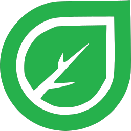 crosstown pest control green leaf logo