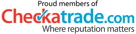 A picture of the Checkatrade logo of which smart aerials are a member of