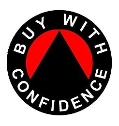 A picture of the Buy With Confidence logo whom Smart Aerials are members