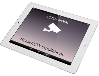 A picture of a CCTV camera and link to Home installations