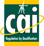 A picture of the CAI logo with clickable link to accreditations page