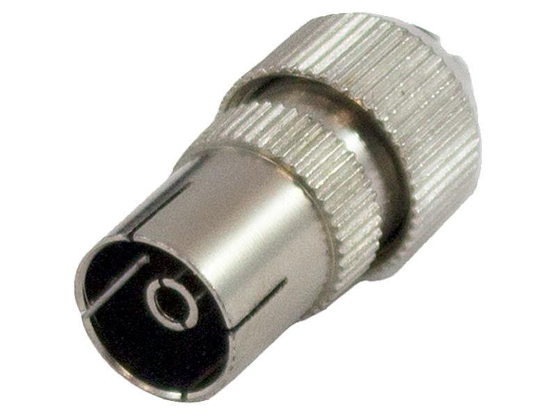 Female Coax Plug