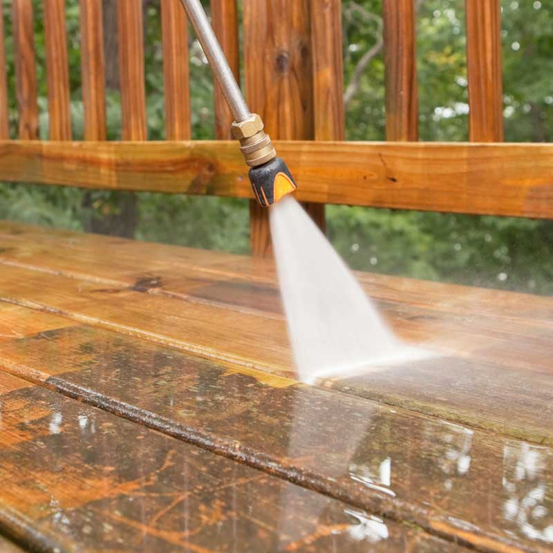 We can use our pressure washers to make your deck in The Woodlands, TX look new again.