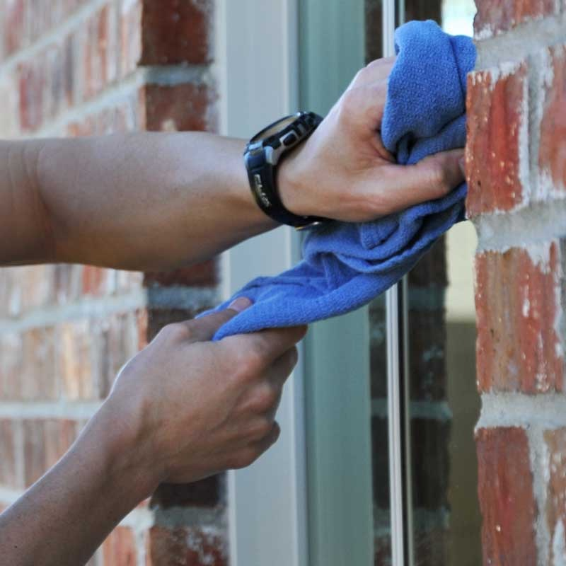 We will clean your windows meticulously.