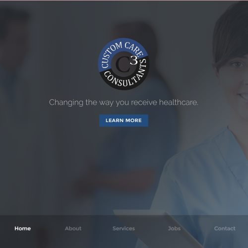 Web Design for Custom Care Solutions