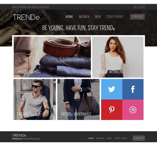 E-Commerce Web Design TRENDe