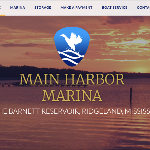 Web Design for Marina