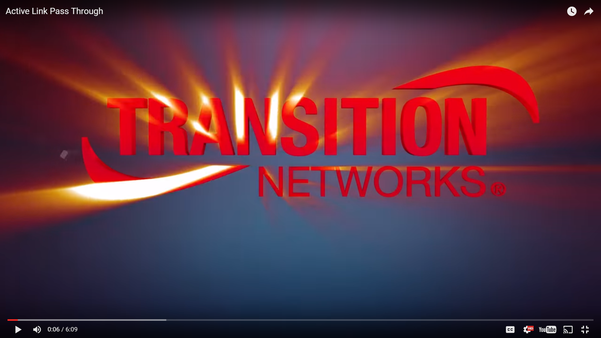 Transition Networks Video Thumbnail