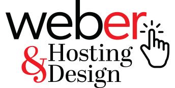 Weber Hosting & Design Logo