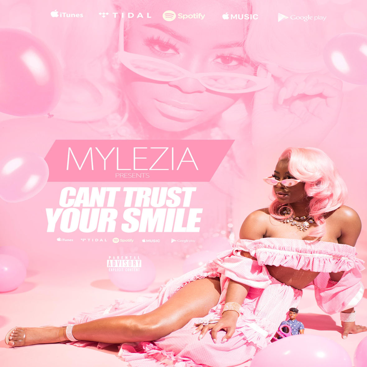 Mylezia - Can t Trust Your Smile Artwork