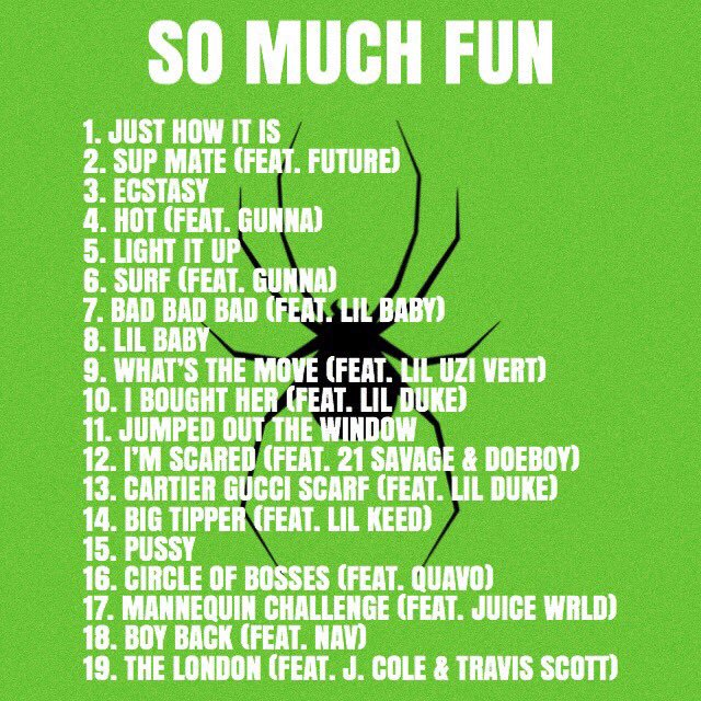 Image result for so much fun young thug