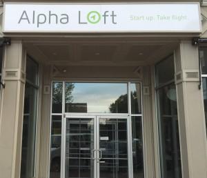 Alpha Loft building entrance