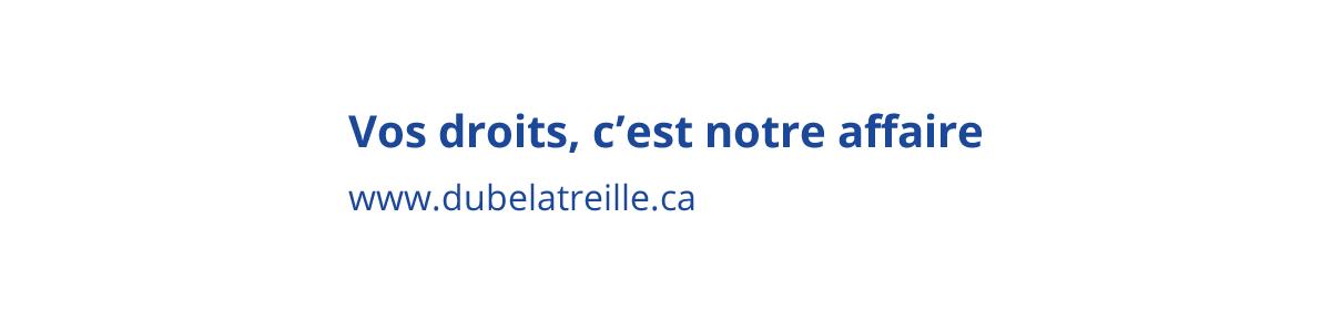 Mise en ligne du nouveau site web deDUBÉLATREILLE