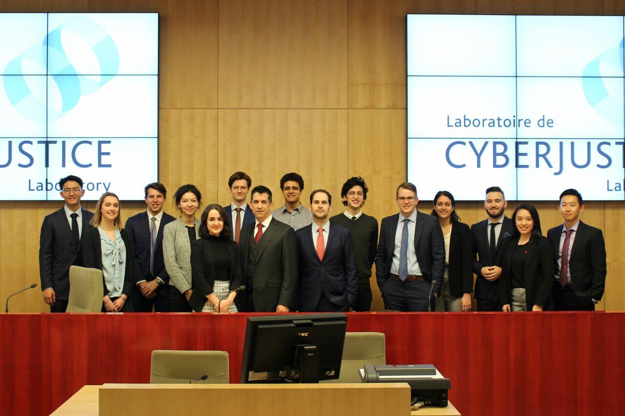 Simulation de procès au laboratoire de cyberjustice!
