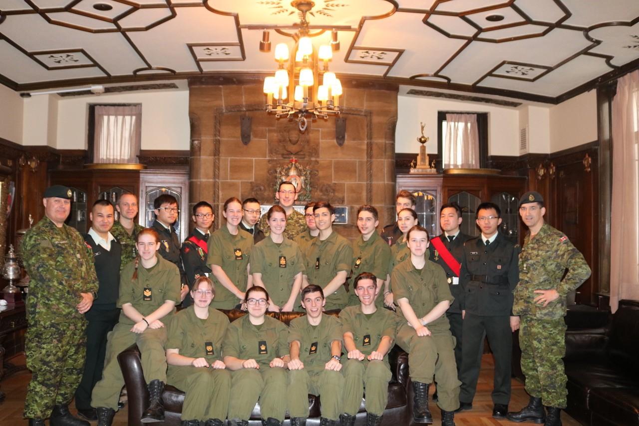 Le mouvement des corps de cadets : une belle institution pour nos jeunes!