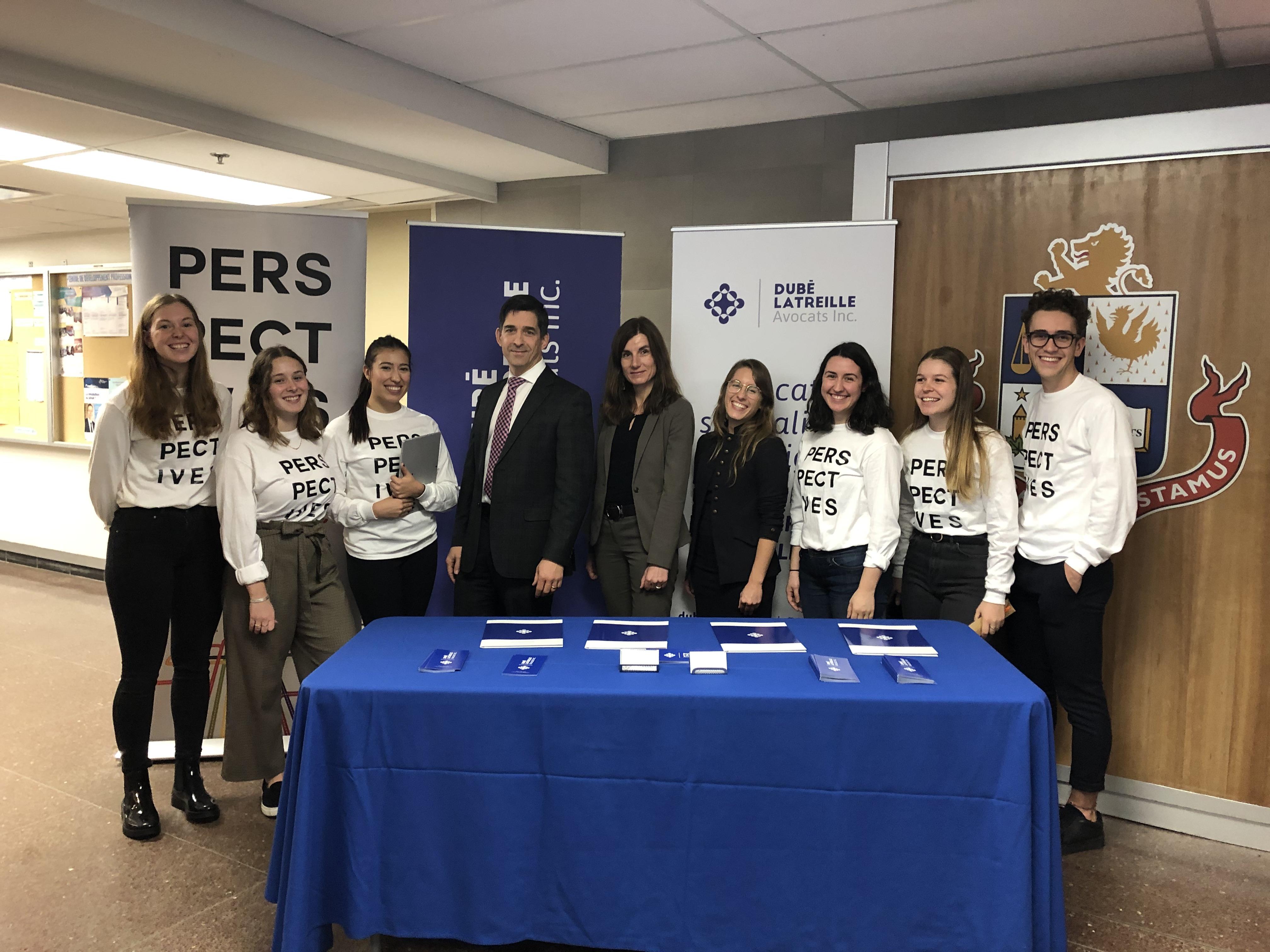 Carrière en droit : DUBÉ LATREILLE rencontre les étudiants