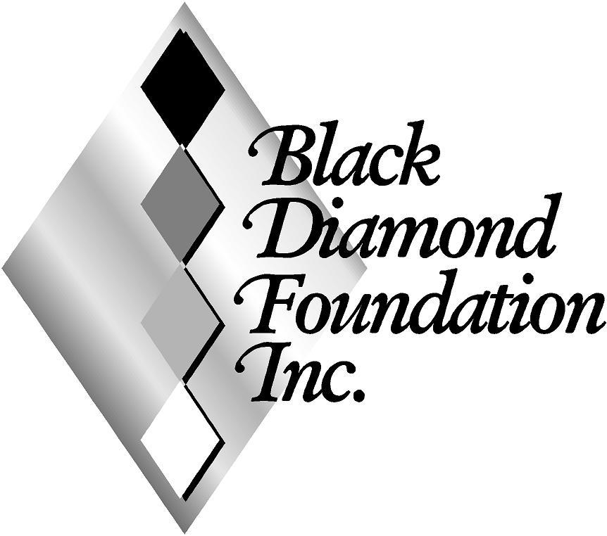 Black Diamond Foundation, inc. logo