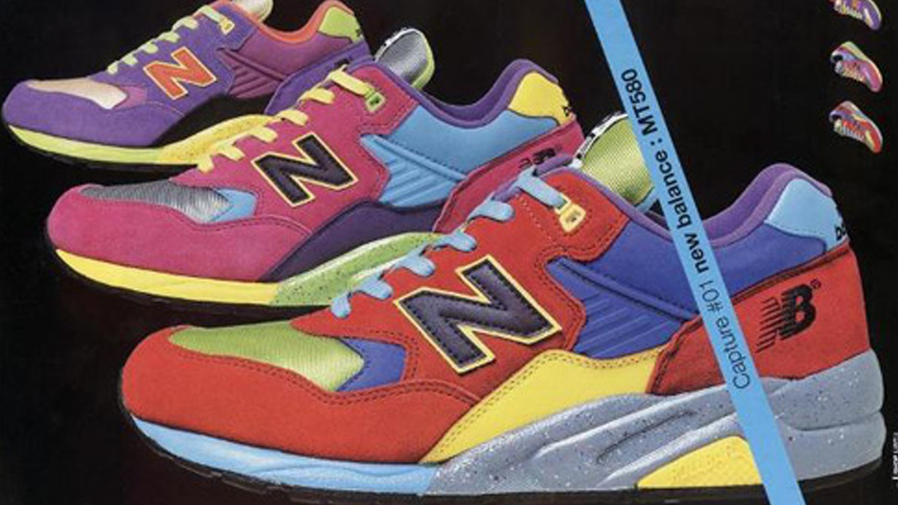 more photos 35112 ec76f Dive into 20 Years of the New Balance 580