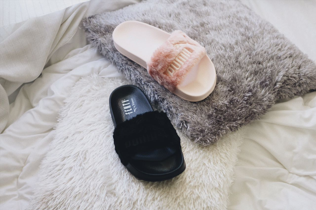 low priced 1dc7a 043a0 Rihanna's Puma Fenty Fur Slide Lands at Sole Academy