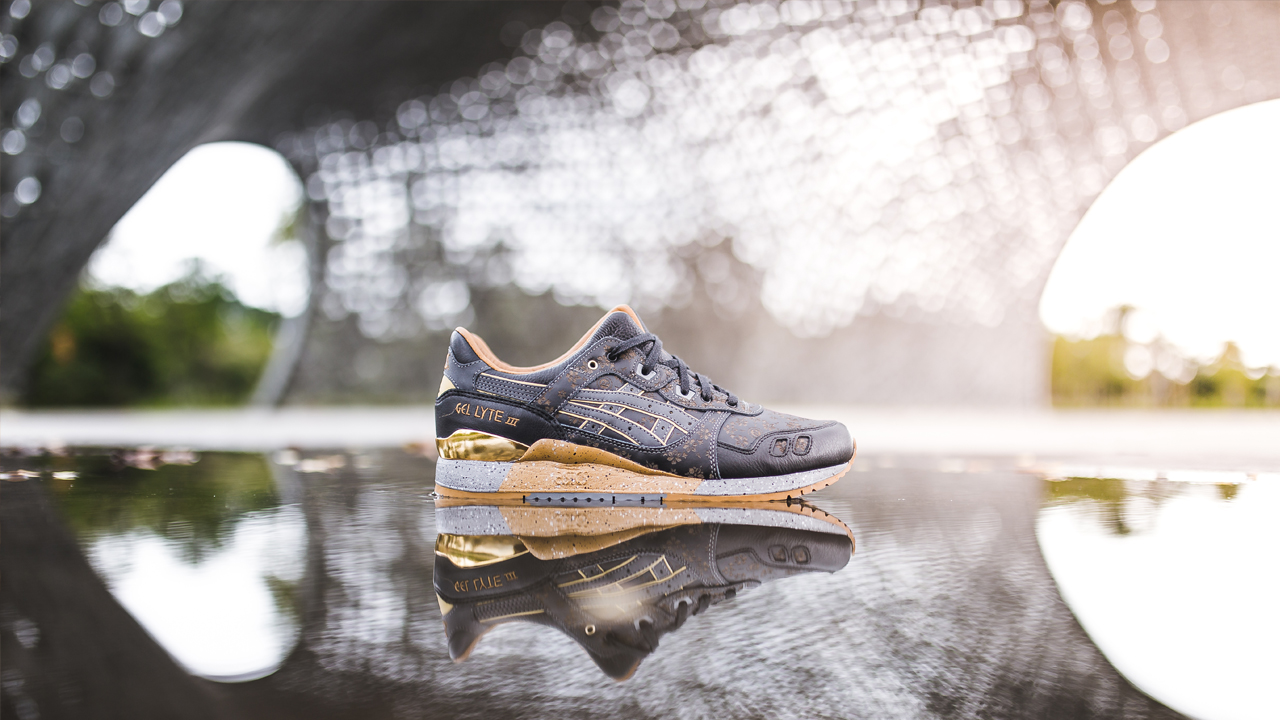 0440ef0c2ce33 We chose the other signature Asics Tiger Silhouette of the Gel-Lyte V to  really differentiate it from the first Vanda.