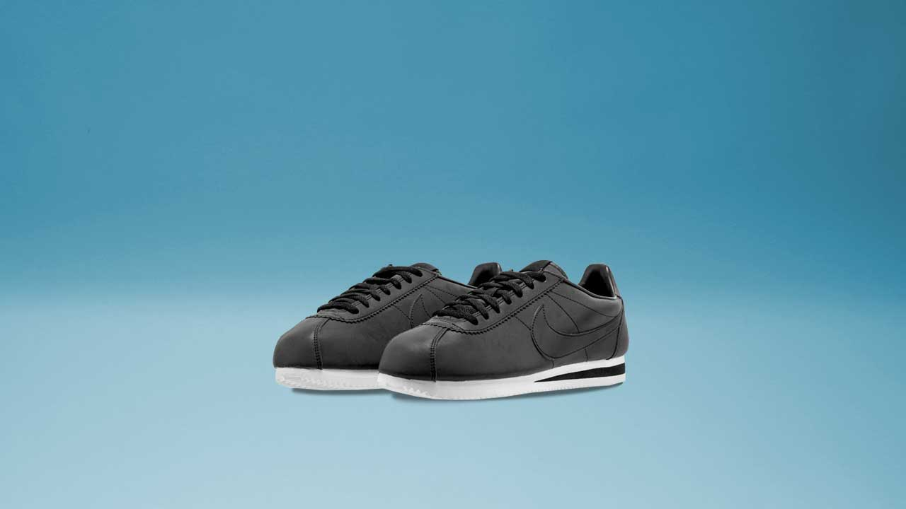 buy online 4cb38 38f9c Nike Cortez SE (Black   White   Black)