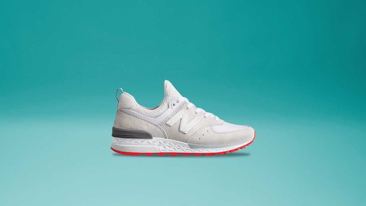 new product 99ee7 391ac Cop The New Balance 574 Sport This Saturday