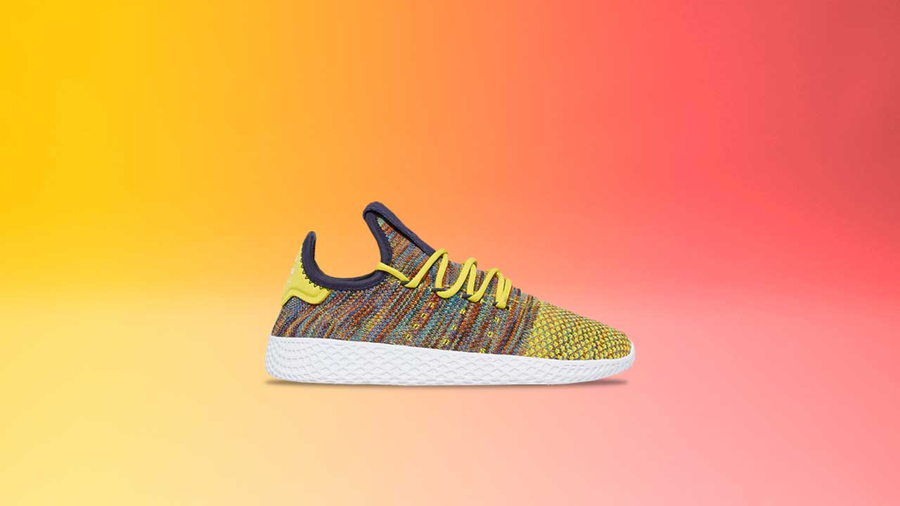 brand new d7eea 8a39a Pharrell's Tennis Hu Continues the Race for Equality