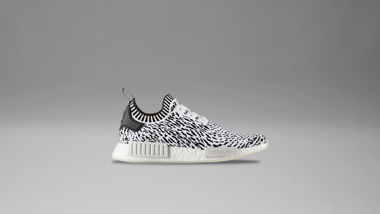 new style 51582 ccb87 A Piece of Japanese Art: adidas NMD R1 Primeknit in 'Sashiko ...