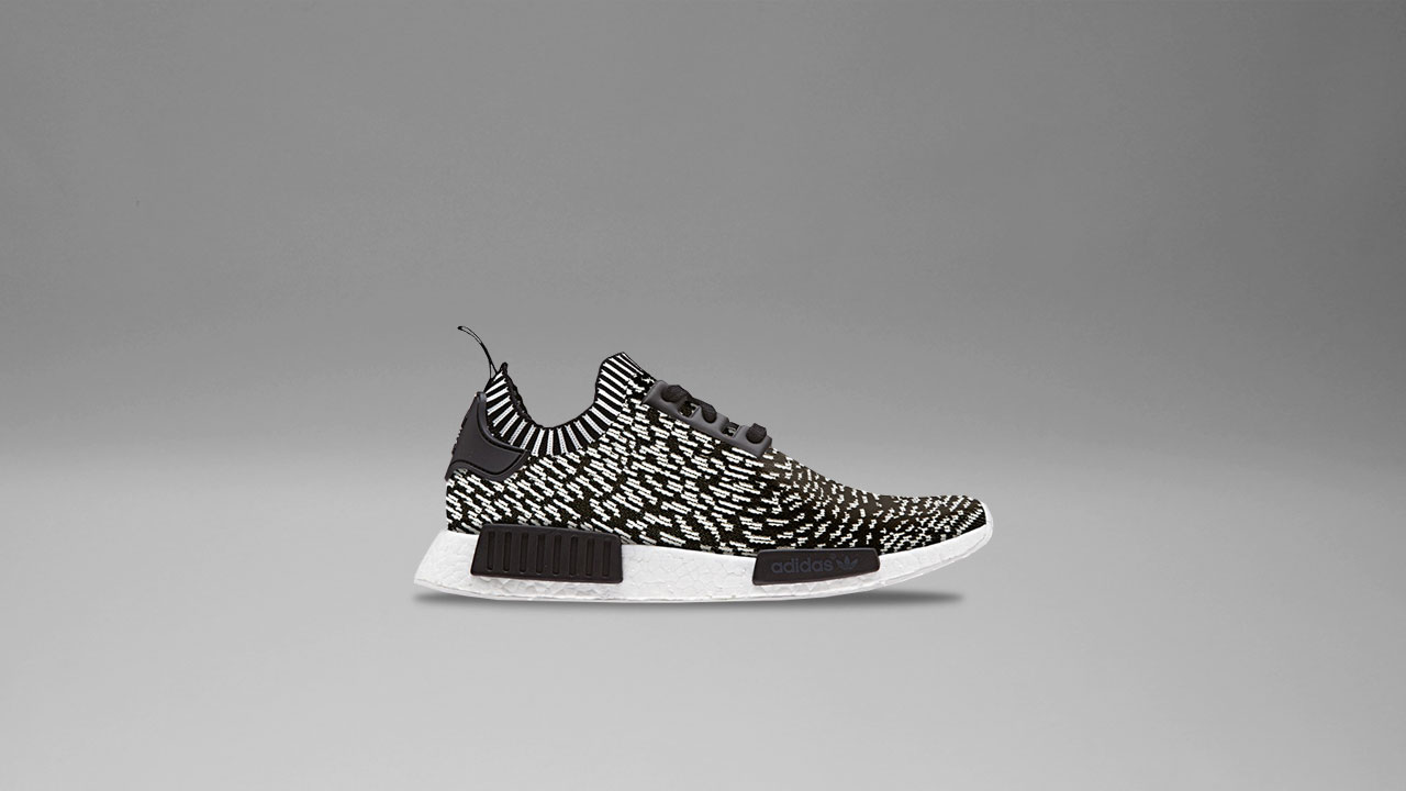 new style 31eb2 a71bb A Piece of Japanese Art: adidas NMD R1 Primeknit in 'Sashiko ...