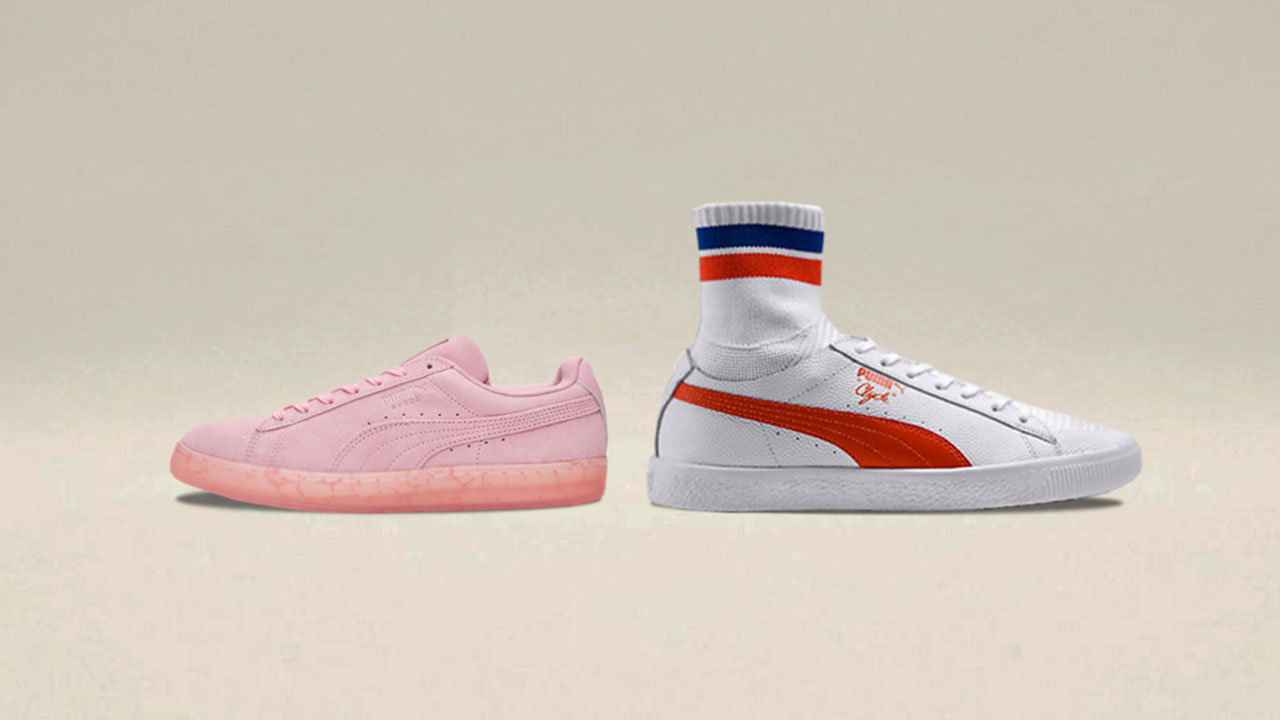 best loved 306a5 aa914 Modern Style Meets PUMA Heritage in Clyde Sock and Easter Pack