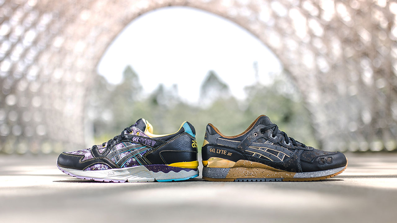 sale retailer fd320 83261 Limited Edt x Asics Tiger's Vanda Arrives in Kuro and Murasaki